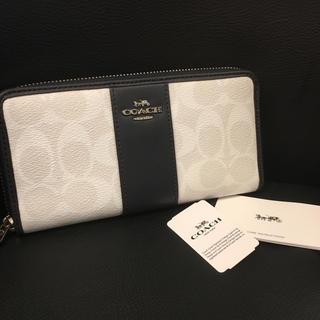 コーチ(COACH)のCOACH F54630 長財布 レディース メンズ シグネチャー 未使用 ♡(長財布)