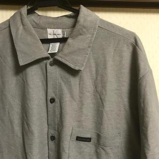 カルバンクライン(Calvin Klein)のCalvin Klein カルバンクライン シャツ 半袖シャツ 古着 90s(シャツ)