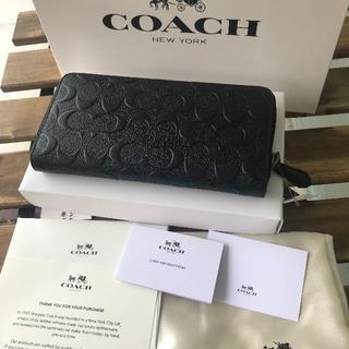 コーチ(COACH)の★セール COACH(コーチ) 長財布 F74918 ブラック(長財布)