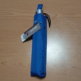 BIG63㎝ 折り畳み雨傘(ブルー)(傘)