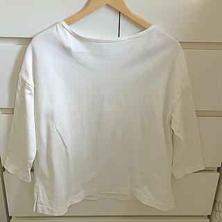 MUJI (無印良品) - 無印良品  オーガニックコットン 太番手ドロップショルダー Tシャツ