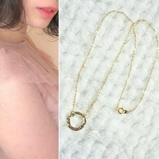 ゴールドプレート ネックレス(ネックレス)
