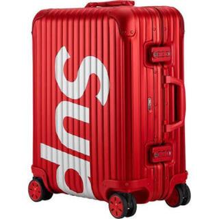 リモワ(RIMOWA)のSupreme Rimowa 45L Red 国内正規品(トラベルバッグ/スーツケース)