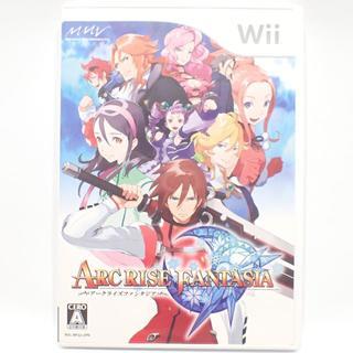 ウィー(Wii)のC418 Wii アークライズファンタジア (家庭用ゲームソフト)