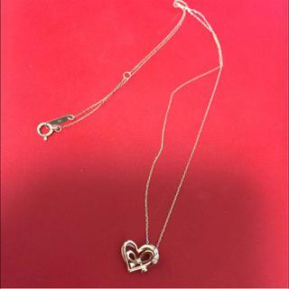 エステルドバルローズ(ESTELLE DE VALROSE)の一粒ダイヤネックレス(ネックレス)