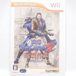 ウィー(Wii)のC419 Wii 戦国BASARA2 英雄外伝 ダブルパック(家庭用ゲームソフト)