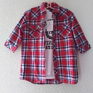 シマムラ(しまむら)の新品 メンズ トップス 2点 セット♥️Mサイズ(Tシャツ/カットソー(半袖/袖なし))