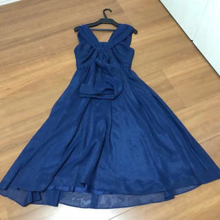 ビアッジョブルー(VIAGGIO BLU)のビアッジョブルー ドレス ワンピース(ミディアムドレス)