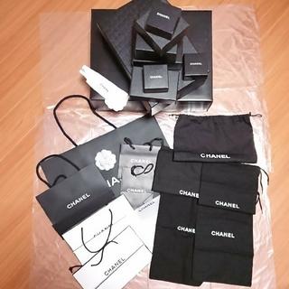 シャネル(CHANEL)のシャネル 空箱 保存袋 紙袋セット販売(ショップ袋)