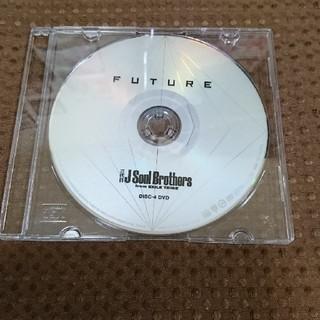 サンダイメジェイソウルブラザーズ(三代目 J Soul Brothers)の三代目J Soul Brothers FUTURE DVD(ミュージック)