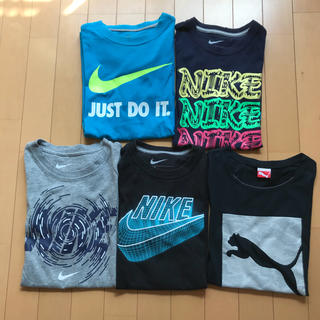 ナイキ(NIKE)のNIKE・PUMA Tシャツ5枚set(その他)