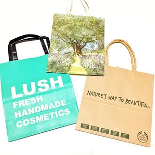 ラッシュ(LUSH)の美品■LUSH ロクシタン The body shop ショップ袋(ショップ袋)
