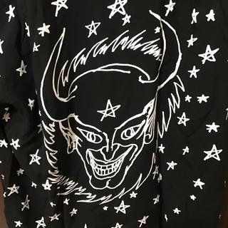 Supreme - supreme devil rayon shirt