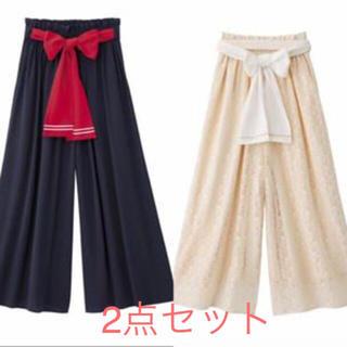 ジーユー(GU)の新品 GU ユニクロ セーラームーン ガウチョ パンツ(サルエルパンツ)