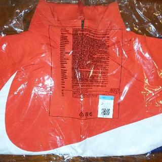 ナイキ(NIKE)のナイキ アノラックジャケット ネイビー ホワイト レッド Mサイズ(ナイロンジャケット)