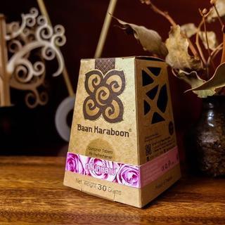 【Baan Karaboon】芳香剤 ローズの香り 天然フレグランス(アロマグッズ)