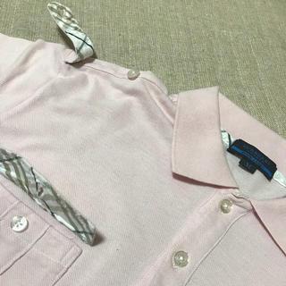 バーバリーブラックレーベル(BURBERRY BLACK LABEL)のバーバリーブルーレーベル ポロシャツ(ポロシャツ)