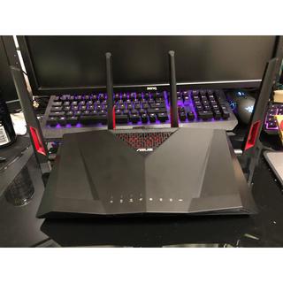 エイスース(ASUS)のASUS RT-AC88U 11ac 2167+1000Mbps(PC周辺機器)