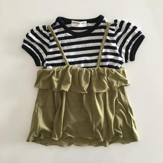 シマムラ(しまむら)のしまむら キャミ付きTシャツ(Tシャツ/カットソー)