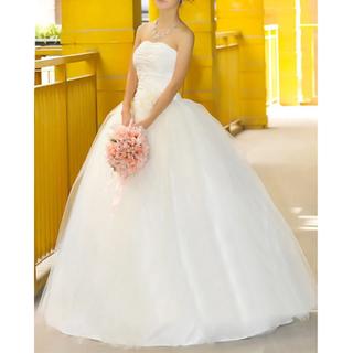 ウエディングドレス 花嫁 ドレス チュール