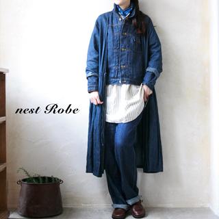 ネストローブ(nest Robe)のネストローブ(nest robe)リネンデニムGジャン(Gジャン/デニムジャケット)