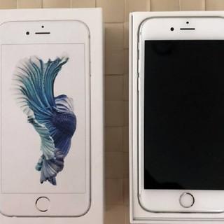 アイフォーン(iPhone)の美品SIMフリー!iPhone6S 64GB シルバー(スマートフォン本体)