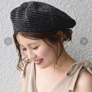 カージュ(Khaju)のkhaju ペーパーベレー(ハンチング/ベレー帽)