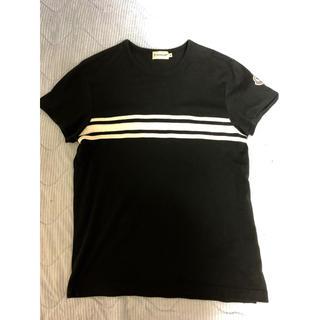 MONCLER - [大幅値下げ]モンクレール tシャツ ブラック sizeS