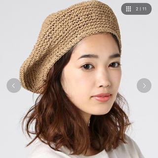 ステュディオス(STUDIOUS)のstudious select ペーパーベレー(ハンチング/ベレー帽)