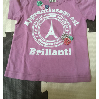 ターカーミニ(t/mini)のT/mini Tシャツ 90cm(Tシャツ/カットソー)