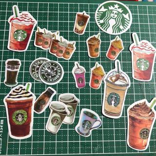 スターバックスコーヒー(Starbucks Coffee)の海外スタバフレークシール(20枚)(シール)