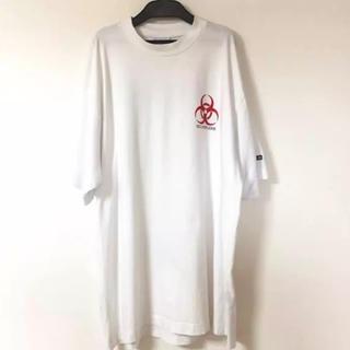 バレンシアガ(Balenciaga)のvetements  バイオ biohazard tシャツ(Tシャツ/カットソー(半袖/袖なし))