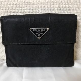 PRADA 黒 折り財布