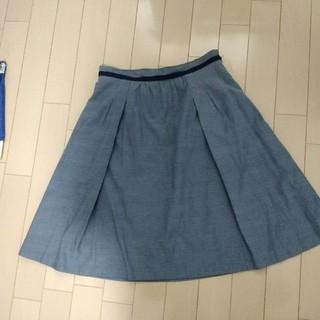 シーディーエスベーシック(C.D.S BASIC)のスカート Sサイズ(ひざ丈スカート)