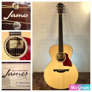 ジェームス(James)の688.James JM750NT❗️トップ単板❗️エレアコ❗️美品‼️(アコースティックギター)