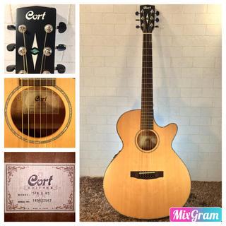 ゆう様専用 700.Cort SFX-E NS❗️トップ単板❗️エレアコ‼️(アコースティックギター)