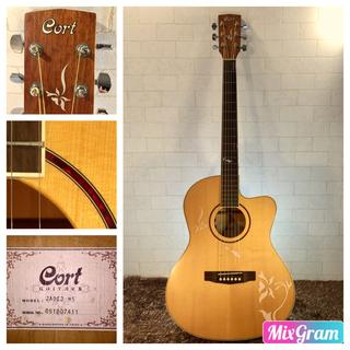 671.CortJade 2 NS❗️トップ単板❗️エレアコ加工‼️(アコースティックギター)
