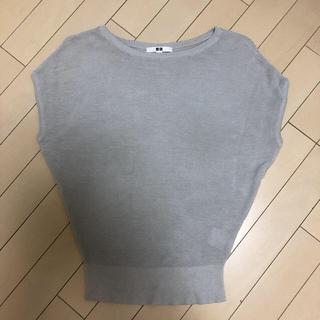 ユニクロ(UNIQLO)のユニクロ ライトボートネックセーター(ニット/セーター)
