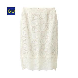 GU - GU人気商品♡レーススカート