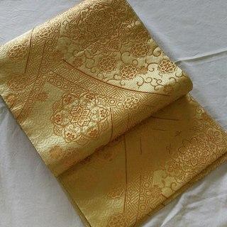 袋帯(金色)未使用品(振袖)