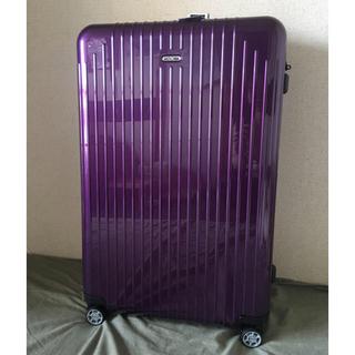 リモワ(RIMOWA)の新品未使用 サルサエアー 91リットル(スーツケース/キャリーバッグ)