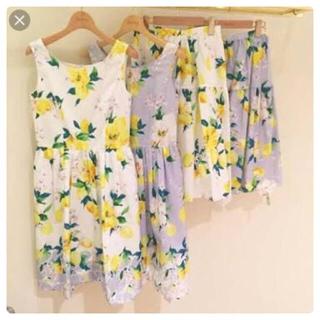 チェスティ(Chesty)のChestyレモンスカート(ひざ丈スカート)