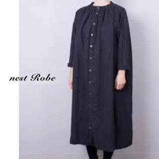 ネストローブ(nest Robe)のネストローブ(nest robe)シャーリングネック ワンピース(ロングワンピース/マキシワンピース)