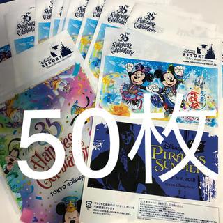 ディズニー(Disney)のショップ袋 極小50枚 ディズニー 35周年 夏祭り(ショップ袋)
