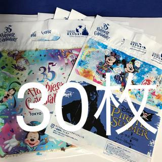ディズニー(Disney)のショップ袋 小30枚 ディズニー 35周年 夏祭り(ショップ袋)