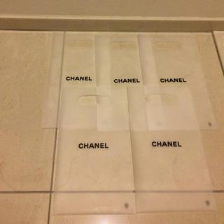 シャネル(CHANEL)のシャネル ショップ袋 (ショッパー袋)5枚セット(ショップ袋)