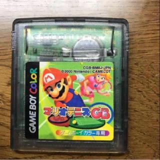 ゲームボーイ(ゲームボーイ)のマリオテニスGB ゲームボーイソフト(携帯用ゲームソフト)