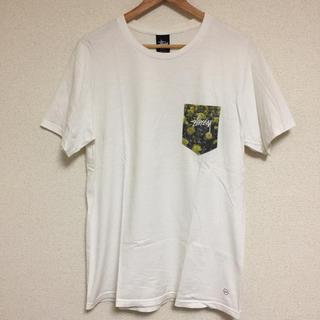 ステューシー(STUSSY)のレア STUSSY×FRAGMENT ステューシー フラグメント コラボTシャツ(Tシャツ/カットソー(半袖/袖なし))