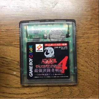 ゲームボーイ(ゲームボーイ)のゲームボーイソフト 遊戯王4(携帯用ゲームソフト)