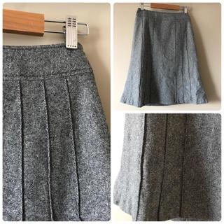 ニジュウサンク(23区)の23区◆フォーマルなウールスカート(ひざ丈スカート)
